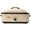 Nesco - 18 qt. Roaster Oven with Non-Stick Cookwell - Ivory