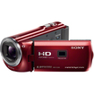 Sony - 16GB Full HD Camcorder with Projector - Red