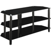 Innovex - TC520G29 52 inches Glass TV Stand - Black