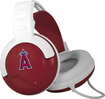 Pangea Brands - Fanjams Los Angeles Angels Over-the-Ear Headphones - Red/White