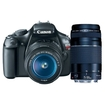 Canon - EOS Rebel T3 SLR Digital Camera w/ 18-55mm & 75-300mm Instant Rebate Bundle Deal