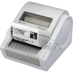 Brother - Thermal Label Printer - Gray, White