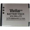 Vivitar - OB-LI70 3.7V DC Li-Ion Rechargeable Camera Battery f/ Olympus Digital Cameras FE4020 FE4030..