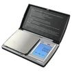 AWS - Touchscreen Pocket Scale - Black, Silver - Black, Silver