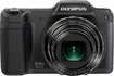 Olympus - Traveller SZ-15 16.0-Megapixel Digital Camera - Black