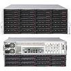 Super Micro - SuperServer Barebone System - 4U Rack-mountable - Intel C602 Chipset - Socket R LGA-2011 - Black