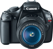 Canon - EOS Rebel T3 DSLR Camera with 18-55mm IS Lens - Black