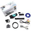 AGPtek - Helmet Action Camera Cam DVR DV Recorder HD 720P 30FPS Waterproof Outdoor Sport Bike Mic Blue - Blue