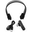 GOgroove - Wireless Bluetooth Stereo Handsfree Headset for Apple iPad, Samsung Galaxy Tab, Acer & More Tablets - Black