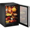 U-Line - Refrigerator - Black