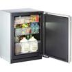 U-Line - Refrigerator - Black, Stainless Steel