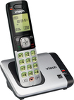VTech - DECT 6.0 Expandable Cordless Phone with Call Waiting/Caller ID - Silver