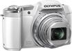 Olympus - SZ-16 iHS 16.0-Megapixel Digital Camera - White