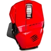 Mad Catz - R.A.T. M Bluetooth Laser Mobile Gaming Mouse - Red - Red