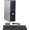 Dell - Refurbished OptiPlex Desktop Computer - Intel Core 2 Duo 4 GB Memory - 750 GB Hard Drive - Gray