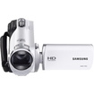 Samsung - F90 HD Flash Memory Camcorder - White