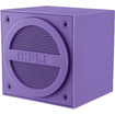 iHome - Mini Bluetooth Speaker Cube for Most Bluetooth-Enabled Devices - Purple - Purple