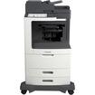 Lexmark - Laser Multifunction Printer - Monochrome - Plain Paper Print - Desktop - Gray