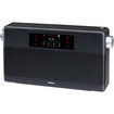 Geneva Lab - WorldRadio Portable Speaker with Bluetooth / FM Radio / Alarm - Black - Black