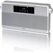 Geneva Lab - WorldRadio Portable Speaker with Bluetooth / FM Radio / Alarm - Silver - Silver