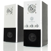 GOgroove - SonaVERSE EQ Home Theater Stereo Speaker System with 2.0 Channel & 3.5mm AUX for Computers - Multi