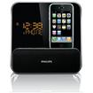 Philips - Desktop Clock Radio - 4 W RMS - Stereo - Apple Dock Interface