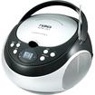 Naxa - Portable CD Player with AM/FM Stereo Radio - Black - Black