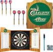 Trademark - UNC Charlotte Solid Pine Dart Cabinet Set