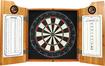 Trademark Games - Miller Girl in the Moon Dart Cabinet Set - Brown