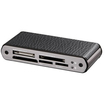 Ultra - U12-40497 LeatherX All-in-One USB 2.0 Mini Flash Card Reader