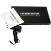 AGPtek - 1 x 8 HDMI Audio Video Splitter Switcher with IR Remote Up to 1920 x 1200 for HDTV DVD PS3 - Black - Black