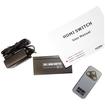 AGPtek - 3 x 1 Port HDMI High Speed Switcher Splitter Remote Control for HDTV DVD - Black