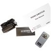 AGPtek - HDMI 3-in 1-Out HDMI Switch Converter 3 x 1 with Remote Control for HDTV DVD Blu-Ray Xbox360 PS3 - Black