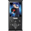 Naxa - 4 GB, Flash Portable Media Player - Black
