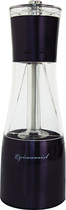 Epicureanist - Salt and Pepper Mill - Black/Clear