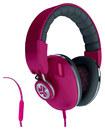 JLAB - Bombora Over-the-Ear Headphones - Pink/Gray - Pink/Gray