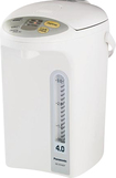 Panasonic - 4.1-Quart Electric Thermal Pot - White/Silver