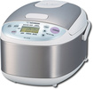 Zojirushi - Micom Rice Cooker and Warmer - Stainless-Steel