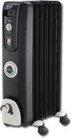 DeLonghi - ComforTemp Radiator Oil Heater - Black