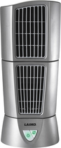 Lasko - Platinum Desktop Wind Tower Fan - Gray