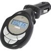 Naxa - MP3 Wma FM Modulator Transmitter with LCD Screen USB & SD Inputs - Black