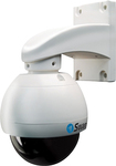 Swann - PRO-750 Indoor/Outdoor Dome Security Camera - White