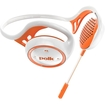 Polk Audio - Sports Headphone - Behind-the-neck - On-Ear - Wired - Orange, White