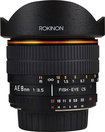 Rokinon - 8mm f/3.5 Fish-Eye Lens for Select Nikon AE Cameras