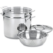 Cuisinart - Chefs Classic Stainless Steel 12 qt. Pasta / Steamer Set With Lid