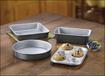 Cuisinart - Chef's Classic 4-Piece Nonstick Bakeware Set - Gray