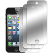 MPERO - New Apple iPhone 5 / 5G 3 Pack of Mirror Screen Protectors