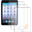 eForCity - 3-Pieces Reusable Anti-glare Screen Protector Compatible with Apple iPad Mini - Transparent