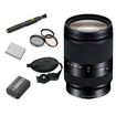 Sony - Bundle 18-200mm F3.5-6.3 E-Mount Lens