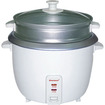 Brentwood - 5 Cup Rice Cooker with Steamer - White - White